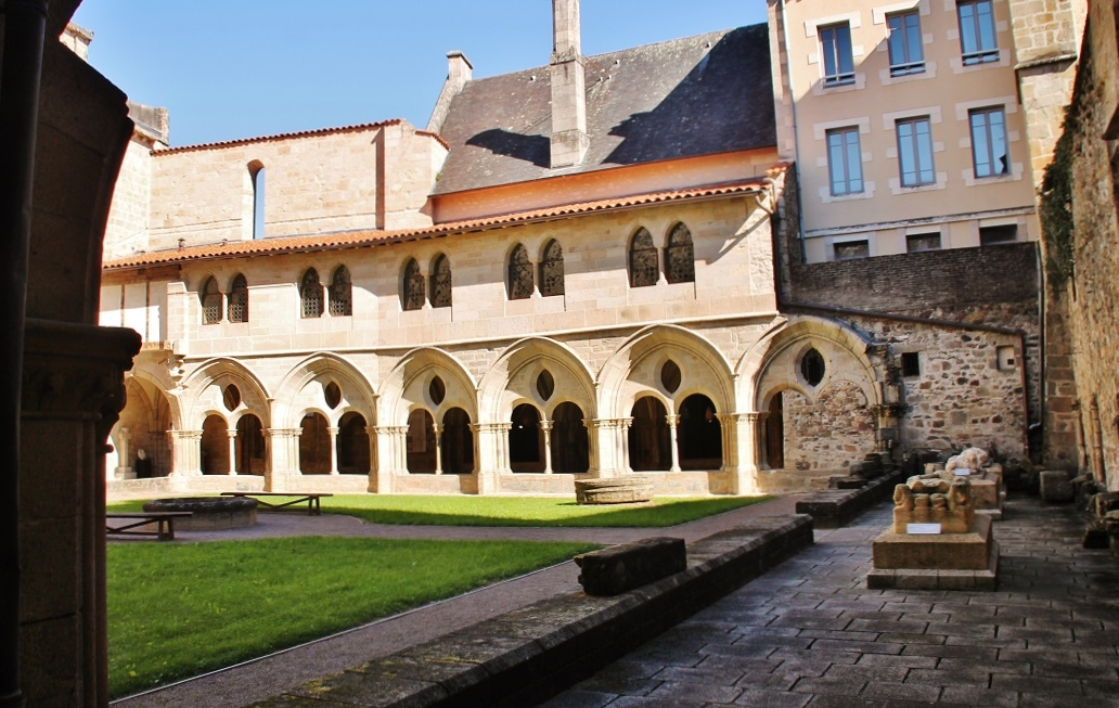 Notre Dame Cathedral and cloister, French Heritage monument to Tulle.