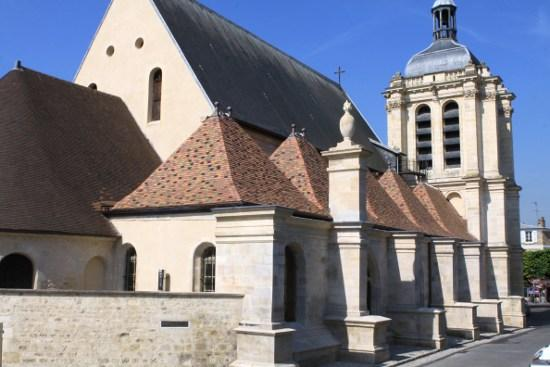 Church of Notre-Dame, French Heritage monument to Pontoise.