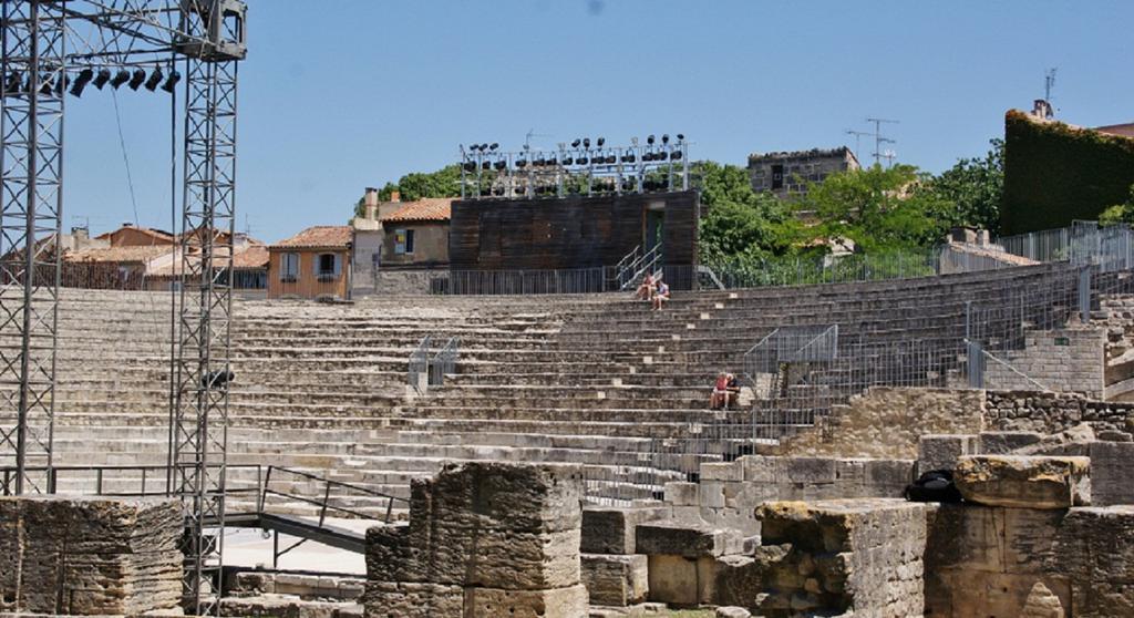 Amphithéatre ou Arènes à Nimes.