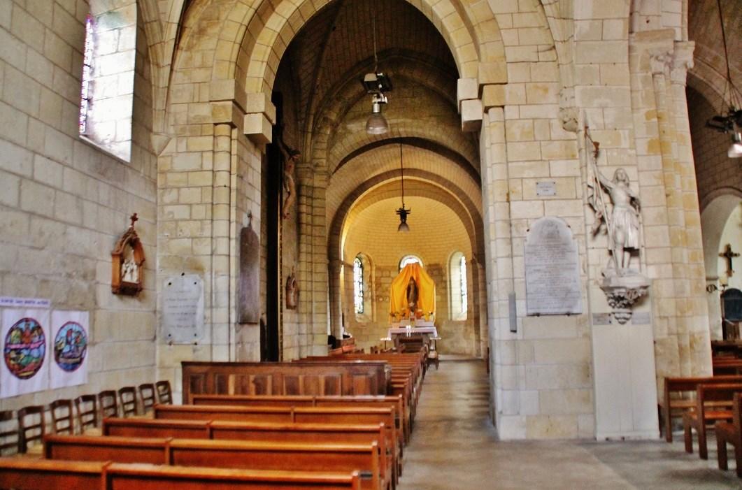Eglise Paroissiale Saint Symphorien à Azay le rideau.