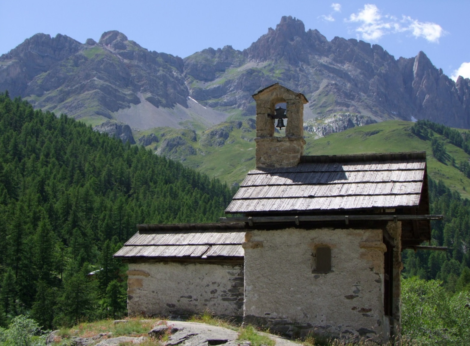 Chapelle Sainte-Marie à Nevache.