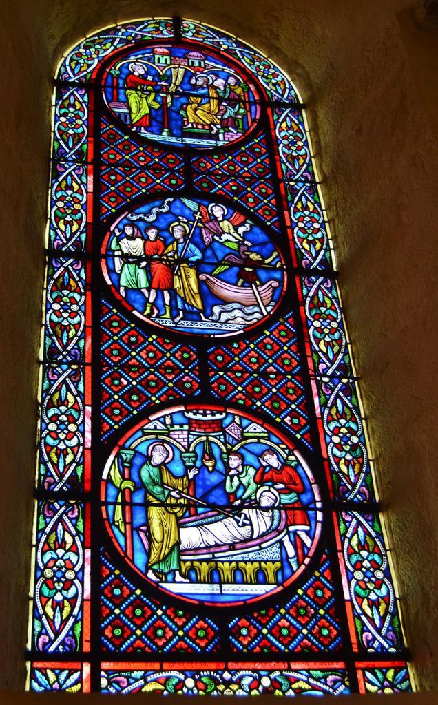 Eglise Saint-Nectaire à St nectaire.