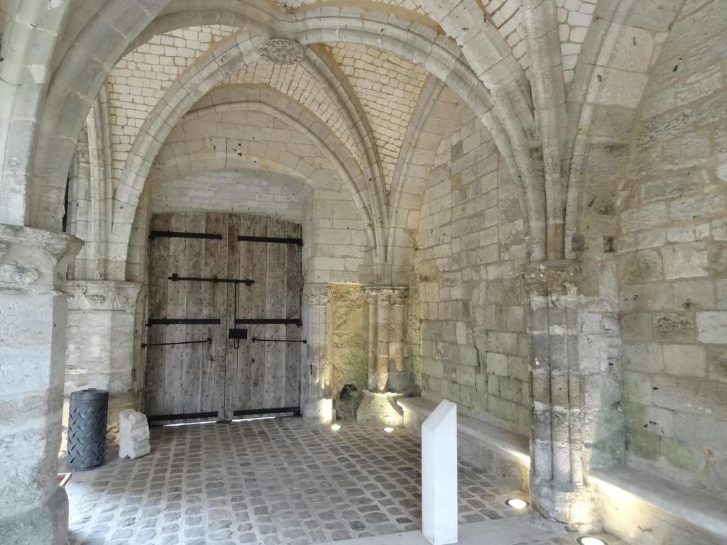 Ancienne abbaye à Jumieges.