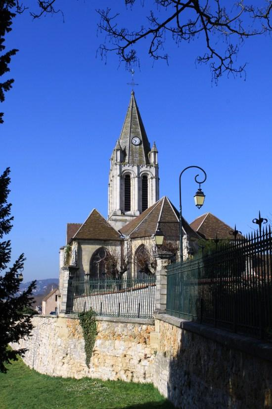 Parish Church Saint-Maclou, French Heritage monument to Conflans ste honorine.