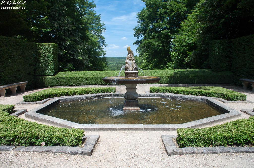 Parc du château de Breteuil à Choisel.
