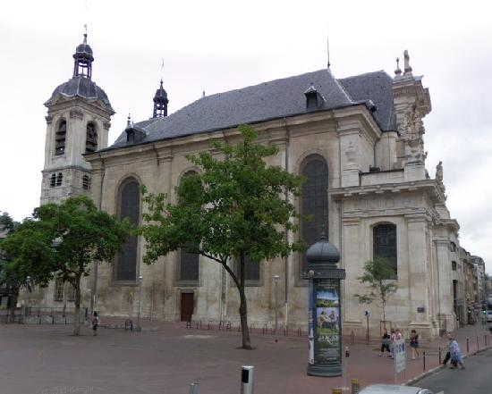 Eglise Saint-Sebastien à Nancy.