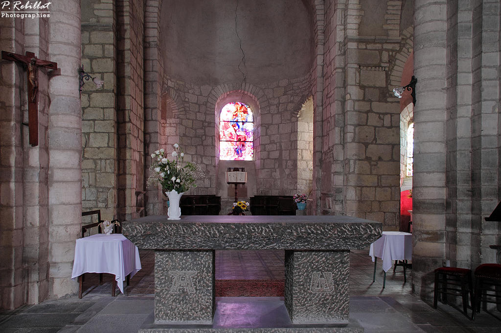 Eglise Saint-Martin à Bellenaves.