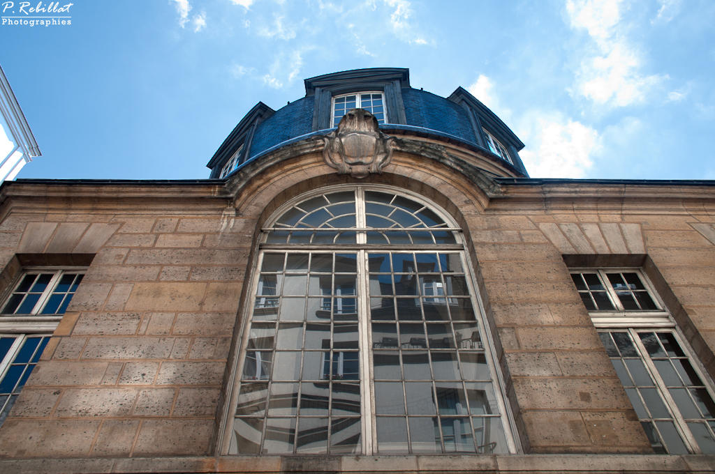 Former Faculty of medicine, currently House of the students, French Heritage monument to Paris 5eme arrondissement.