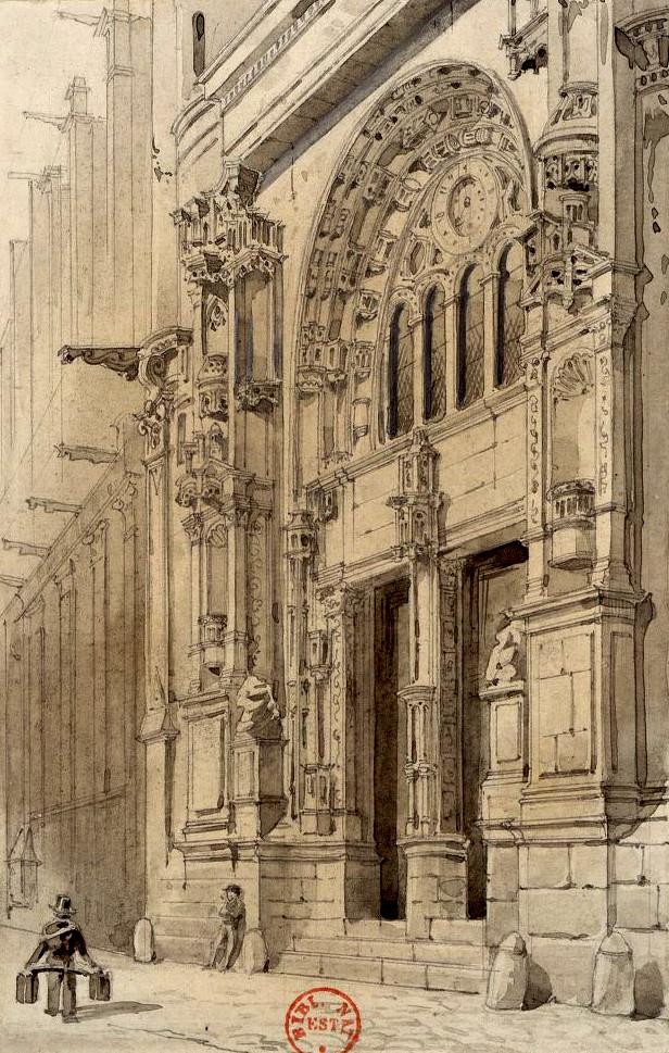 Eglise saint eustache paris 1er arrondissement paris for Architecte st eustache