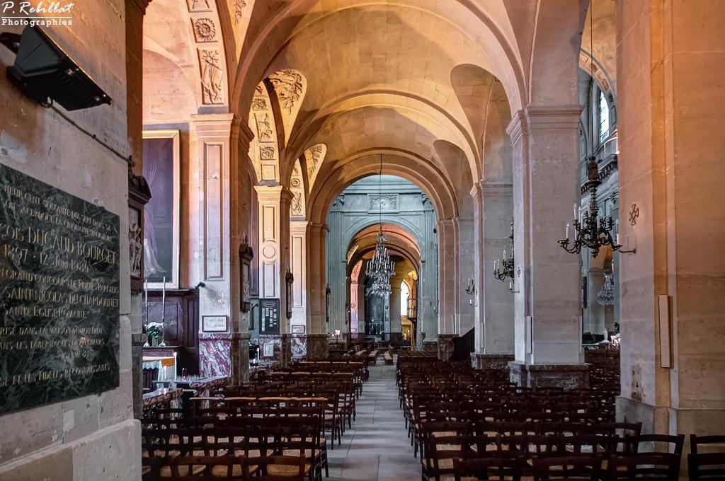 Eglise Saint-Nicolas-du-Chardonnet à Paris 5eme arrondissement.