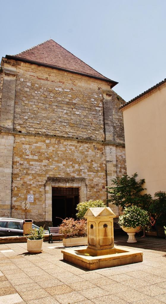 Church of St James, French Heritage monument to Bergerac.