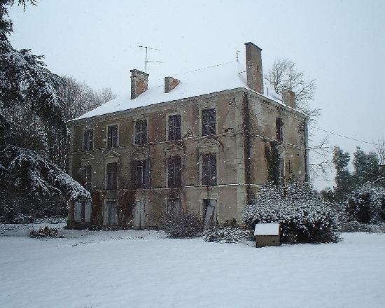 château de Chambreville à St sylvain d anjou.