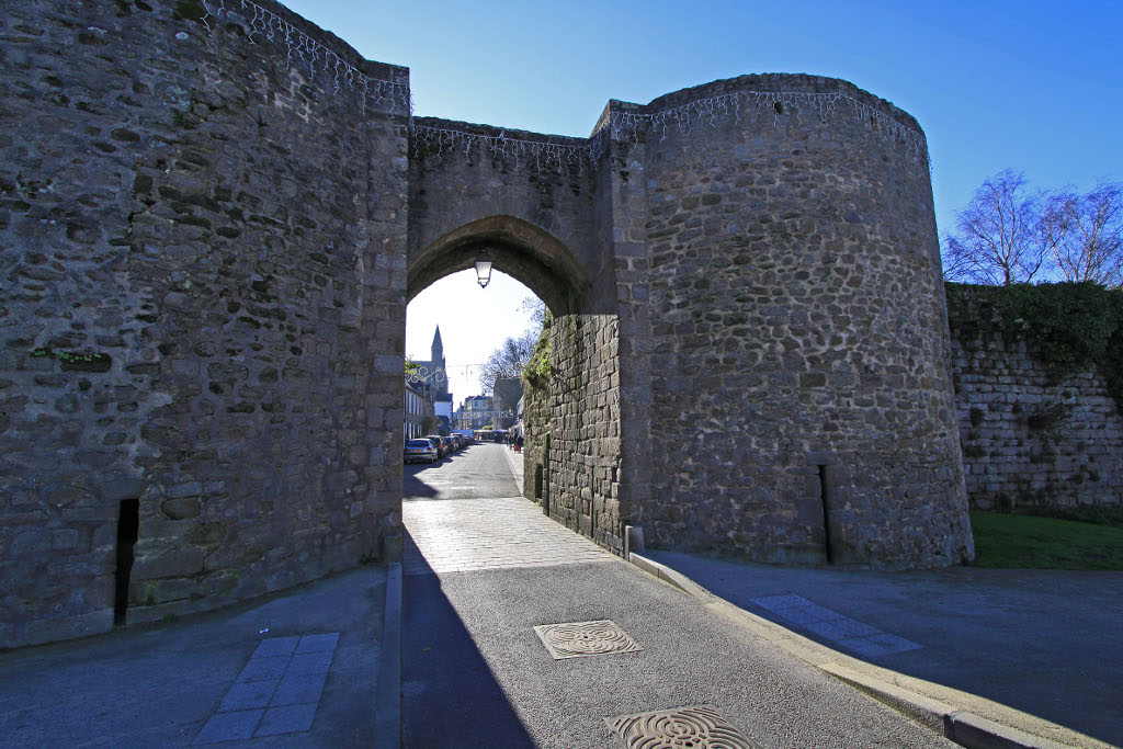 Walls, French Heritage monument to Guerande.