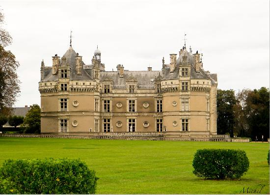 Château du Lude, French Heritage monument to Le lude.