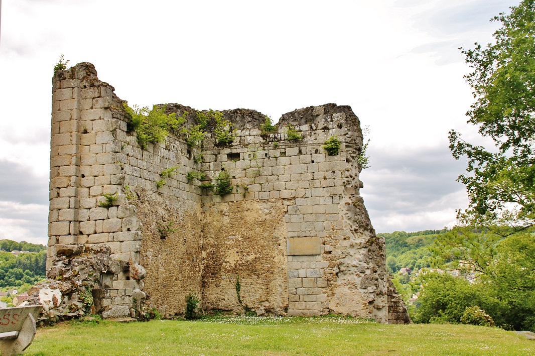 Remains of the Castle, French Heritage monument to Aubusson.