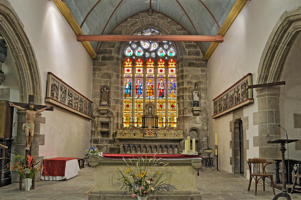 Eglise Saint-Milliau à Ploumilliau.
