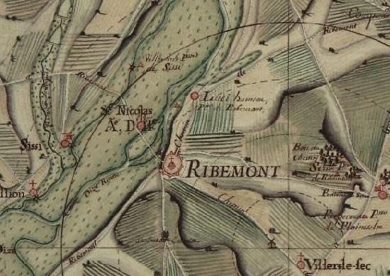 Moulin de Lucy à Ribemont.