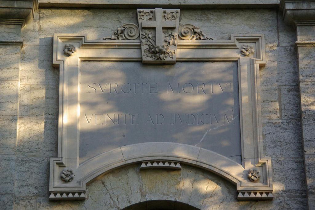 chapelle funéraire de la famille de Jonage à Chamagnieu.