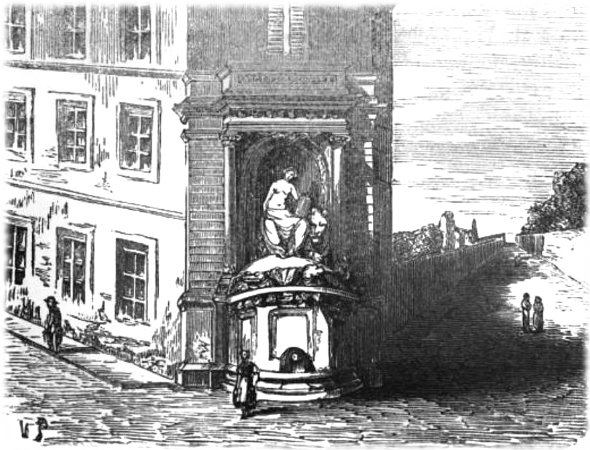 Fontaine Cuvier à Paris 1861