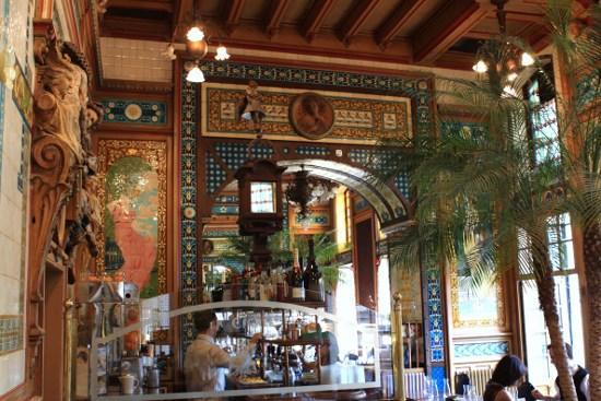 Brasserie La Cigale à Nantes.