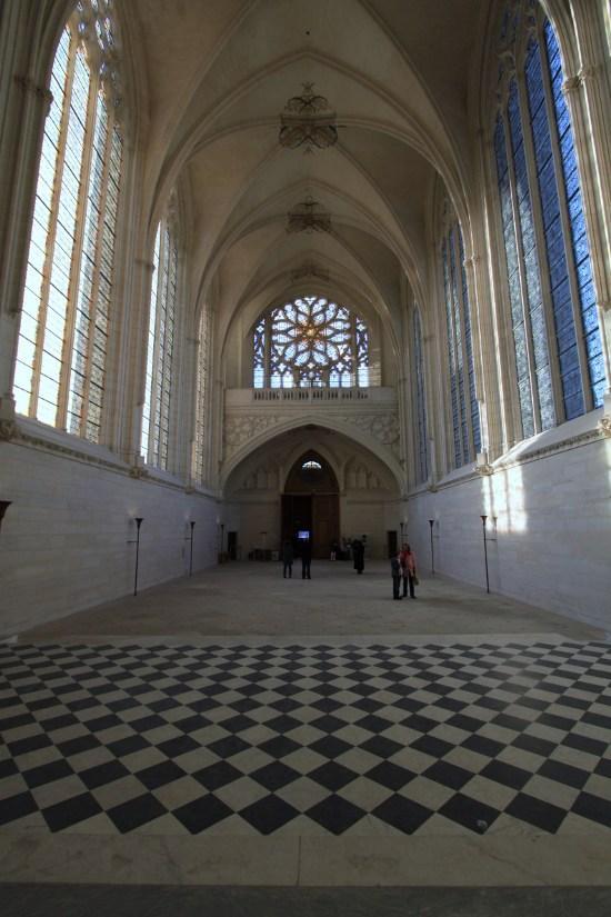 Abords du château de Vincennes à Vincennes.