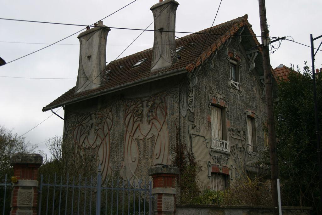 Jardin d'agrément dit maison Rustica à Faremoutiers.