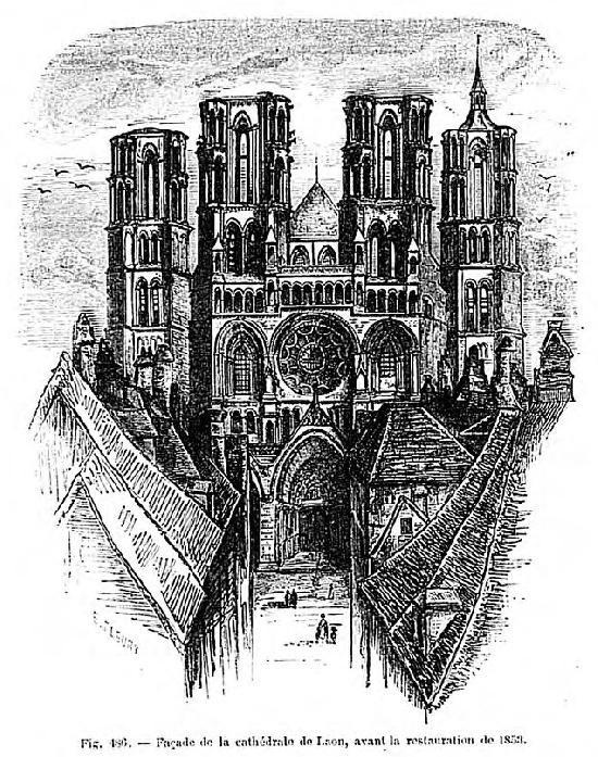Notre Dame Cathedral to Laon.