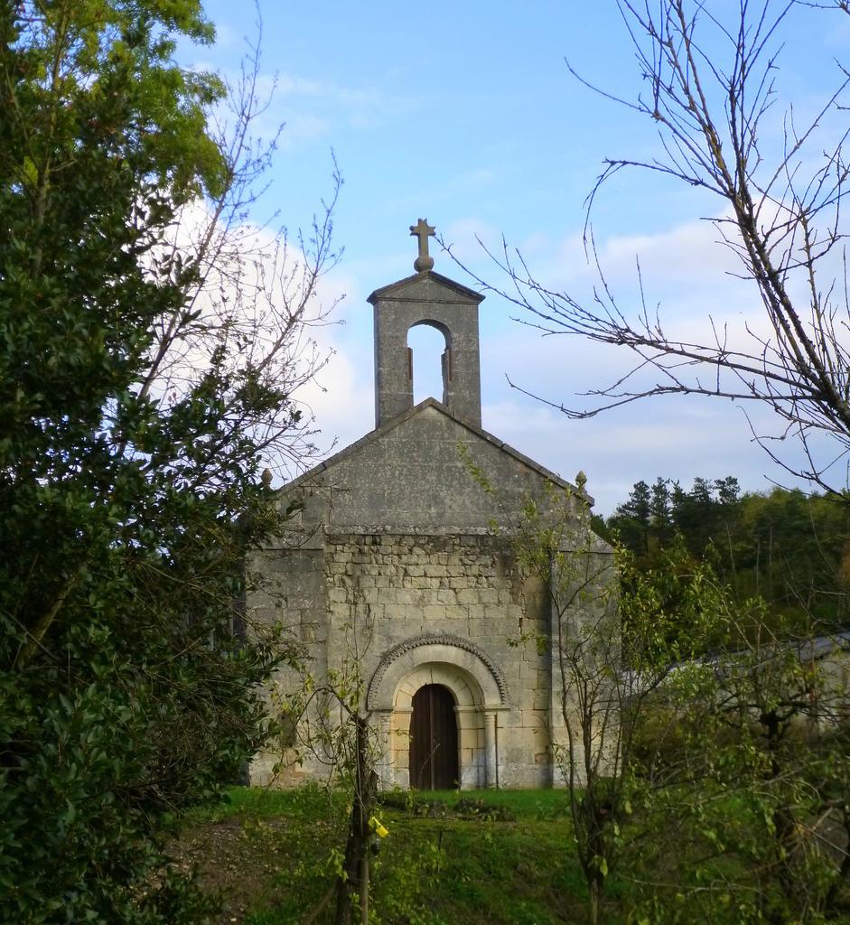 Eglise Paroissiale Saint-Palais-des-Combes à Lignieres sonneville.