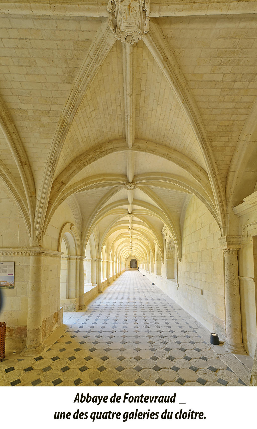 Royal Abbey of Fontevraud.