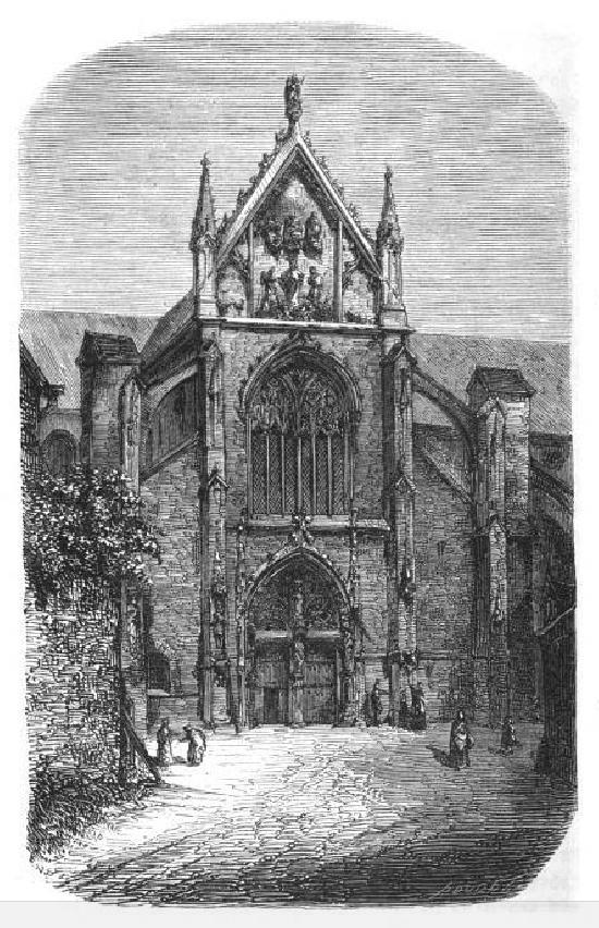 Church Saint-Rémi, French Heritage monument to Reims.