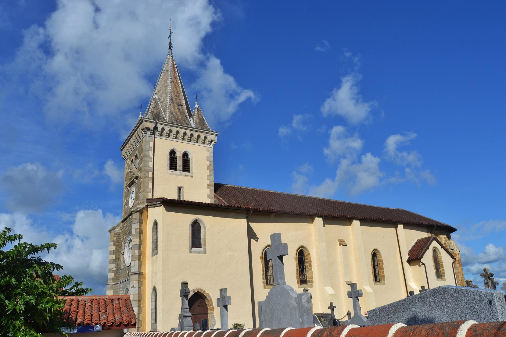 église paroissiale Saint-Félix à St palais.