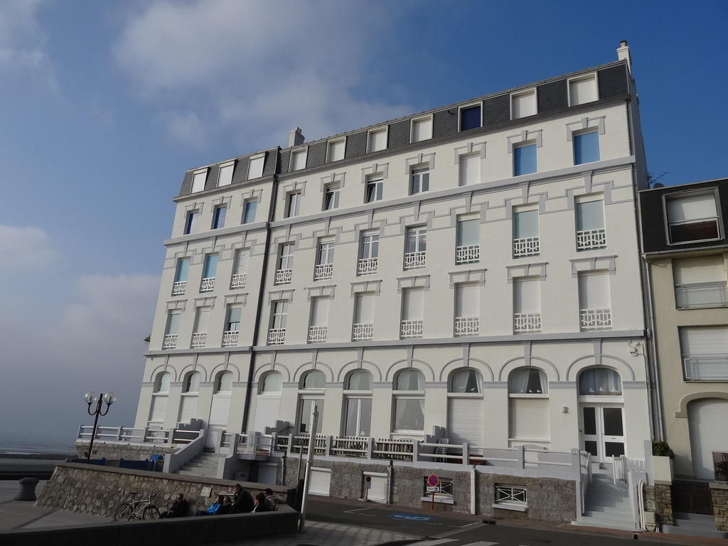 Travellers hotel, said the Grand Hotel, French Heritage monument to Wimereux.