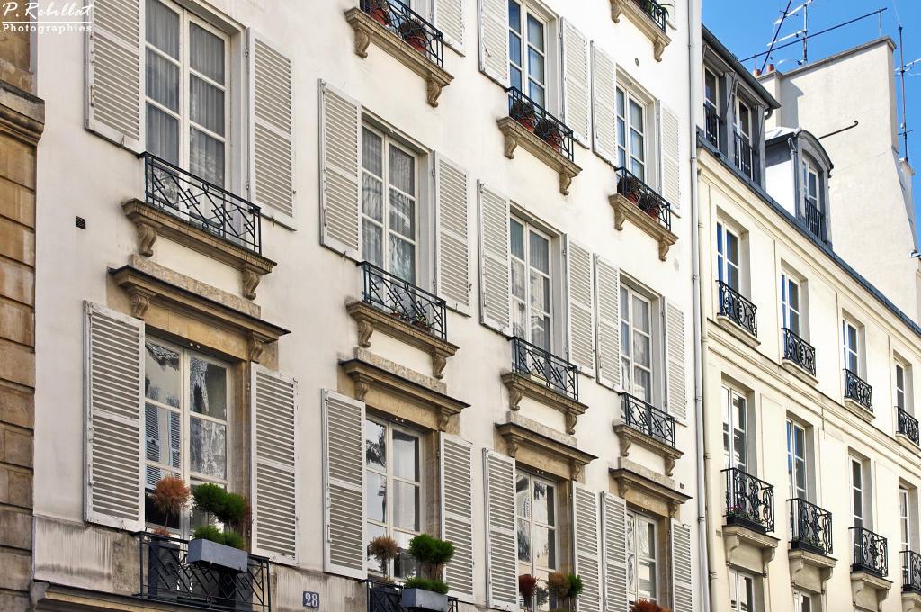 La rue de Condé à Paris 6eme arrondissement.