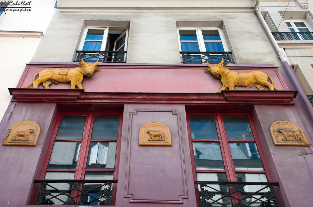 Boucherie (ancienne) à Paris 5eme arrondissement.