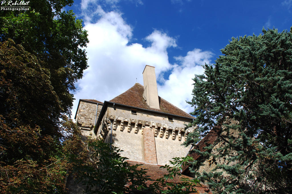 Castle, French Heritage monument to Menetou couture.