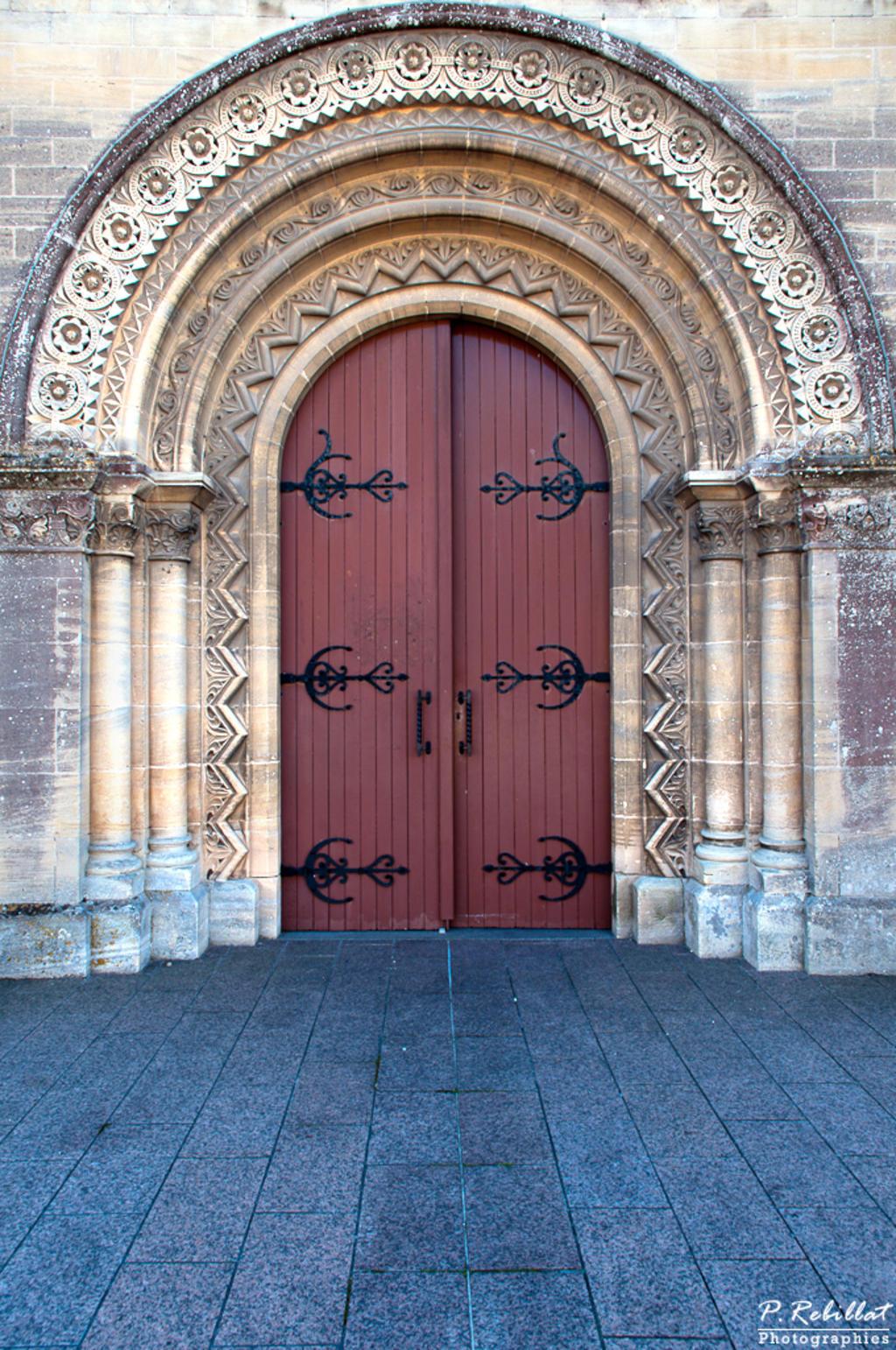 Eglise à Lion sur mer.