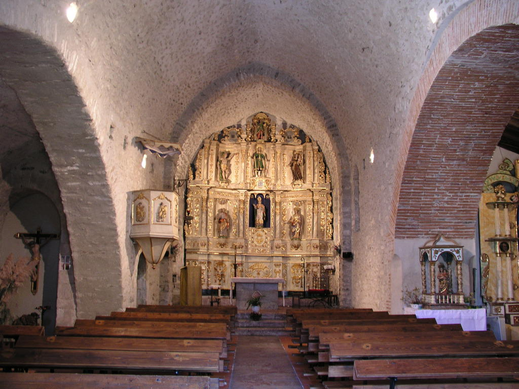 Saint-successful Church, French Heritage monument to Taurinya.