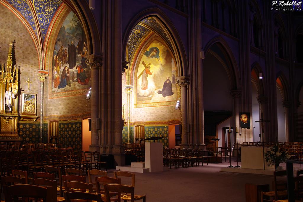 église Saint-Ignace à Paris 6eme arrondissement.