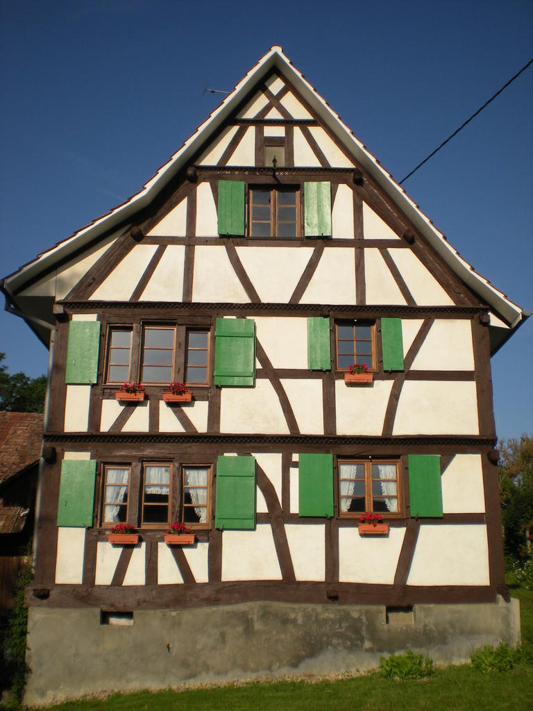 Farm, French Heritage monument to Stetten.