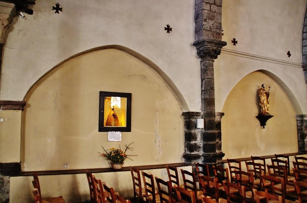 Church Saint-Vincent, French Heritage monument to Solignac sur loire.
