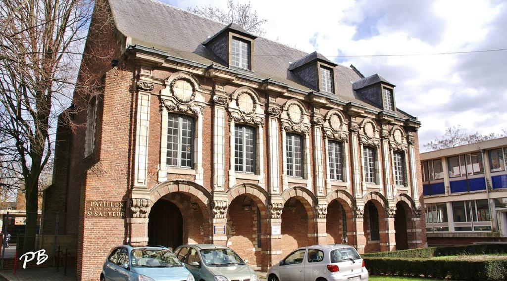 Hospital Saint-Sauveur, French Heritage monument to Lille.