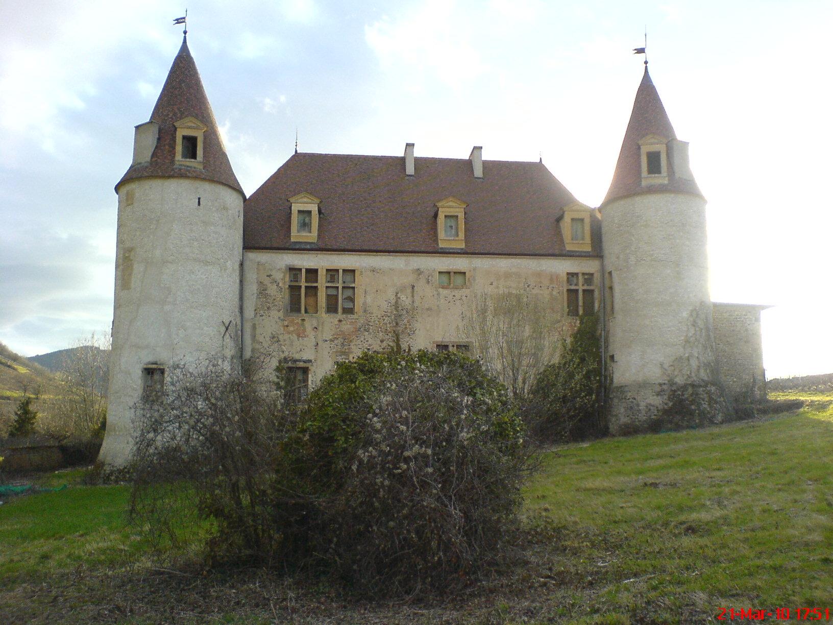 Château de La Palud à Quincie en beaujolais.