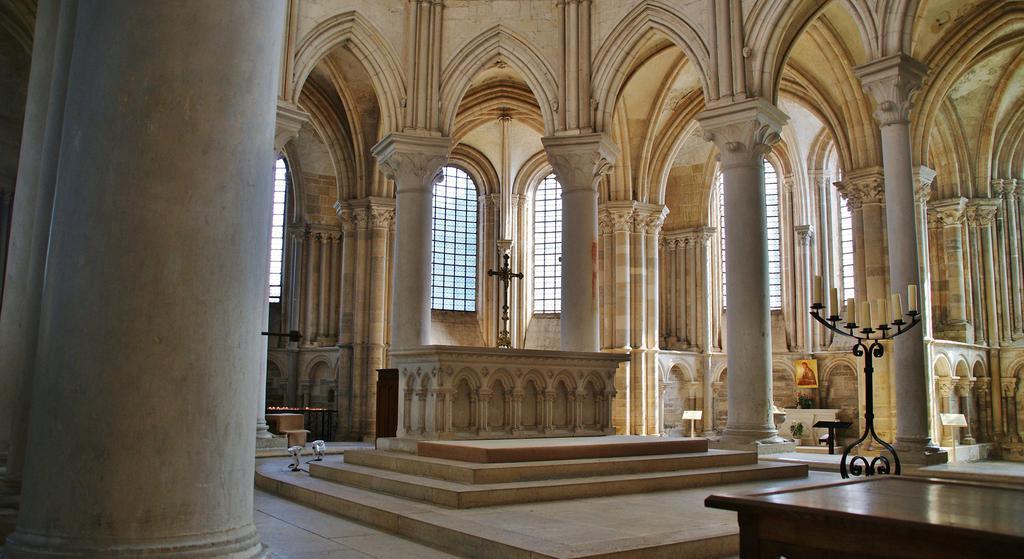 Eglise de la Madeleine à Vezelay.