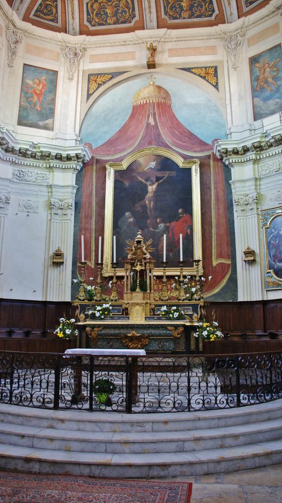 Eglise Sainte-Madeleine de l'Ile à Martigues.