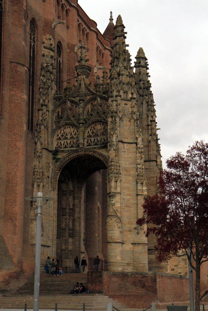 Sainte-Cécile Cathedral, French Heritage monument to Albi.
