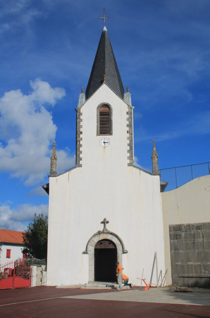 Parish Church of l'Assomption-de-la-Bienheureuse-Vierge-Marie, French Heritage monument to Luxe sumberraute.