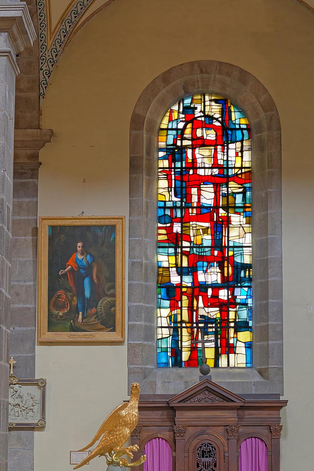 Church Sainte-Croix to St malo.