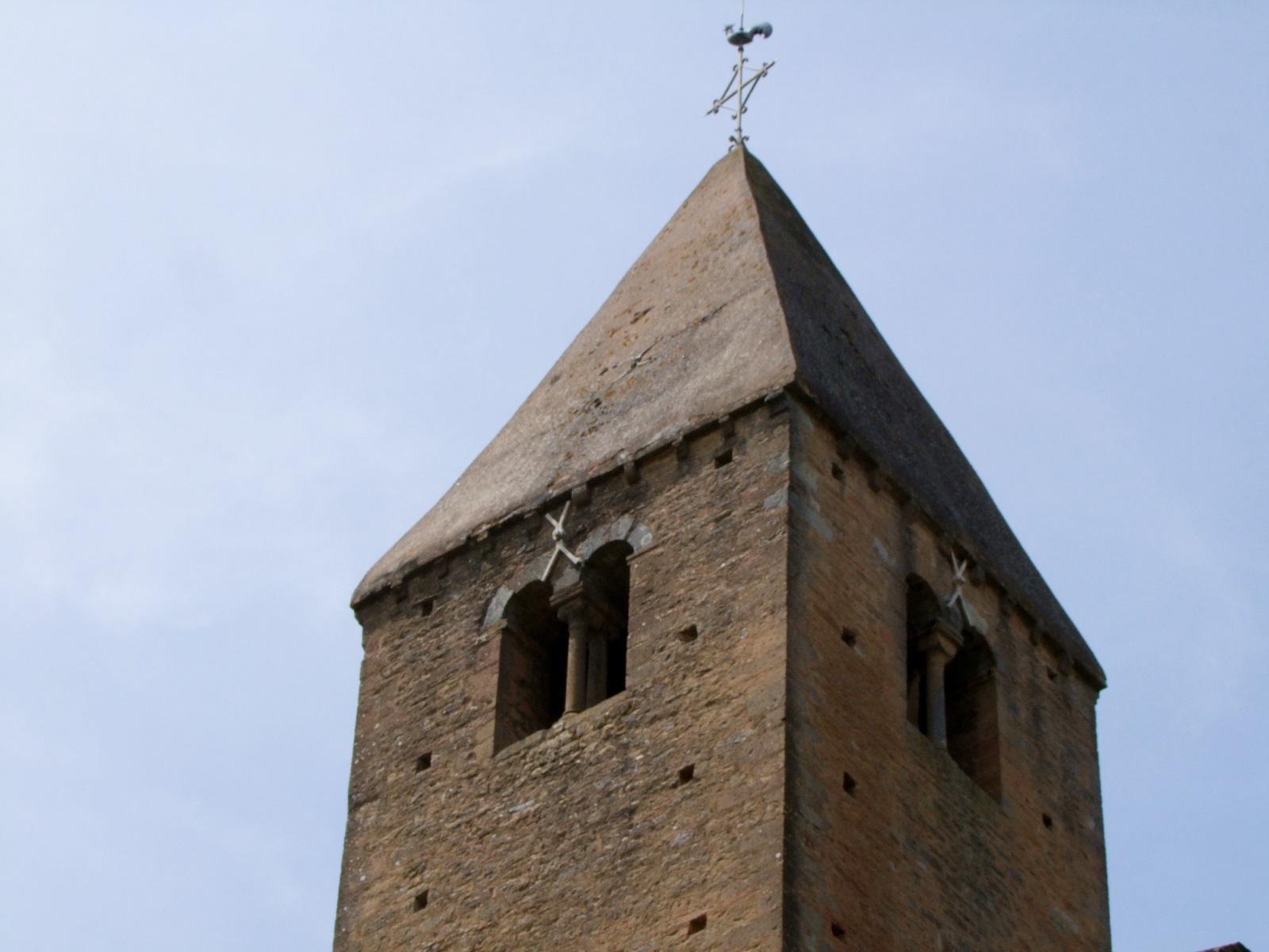 Eglise paroissiale à La chapelle sous brancion.