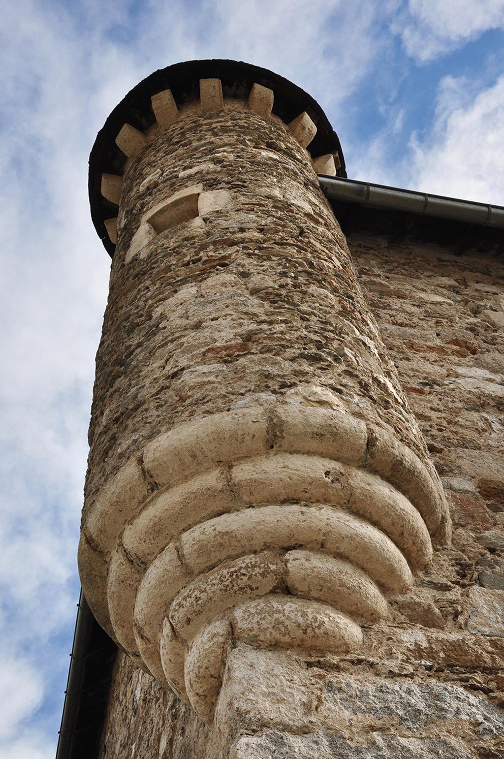 château à Senechas.