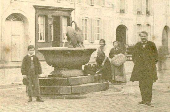 Huit fontaines à Remiremont.